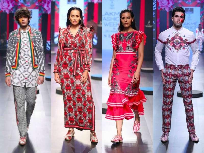 Lakme Fashion Week Winter Festive 2017 Five Days Of Pure Fashion Part 2 Aza Blog