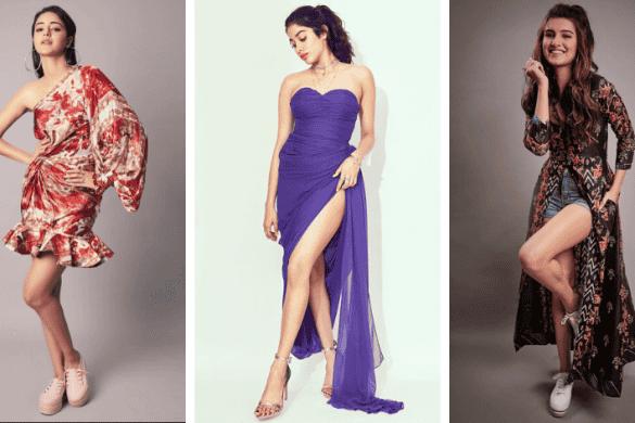 Valentine's day outfits- Ananya, Janhvi, Tara