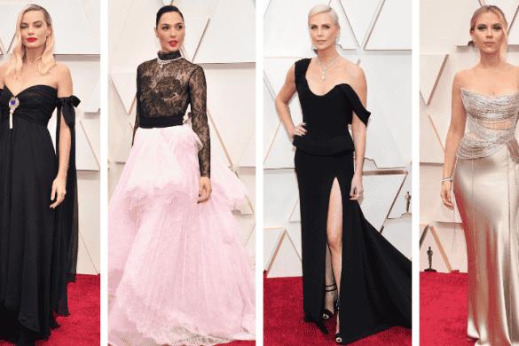Margot Robbie, Gal Gadot, Charlize Theron, Scarlett Johansson at Oscar 2020