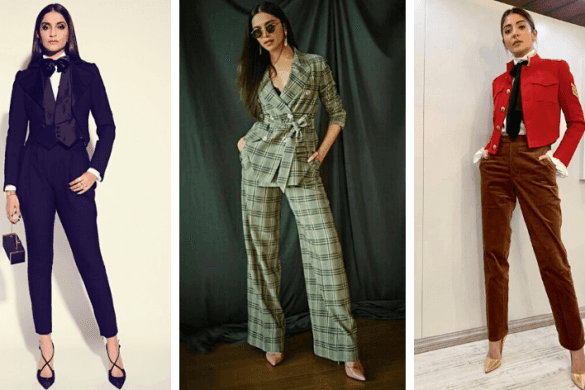 Sonam Kapoor, Deepika Padukone, Anushka Sharma, Pant-Suits