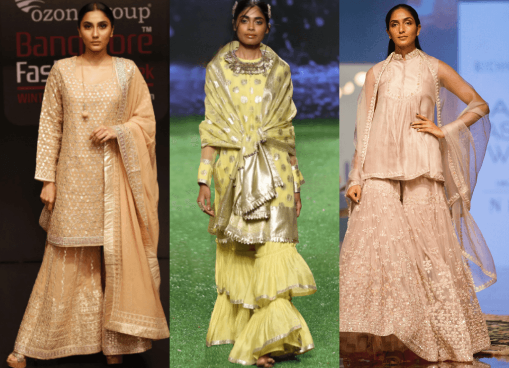 (L to R) Rahul Singh, Pooja Shroff, Riddhi Mehra