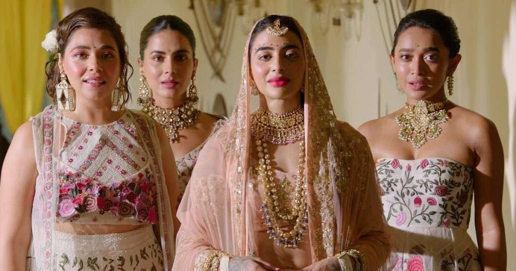 The Bride Squad In Rahul Mishra