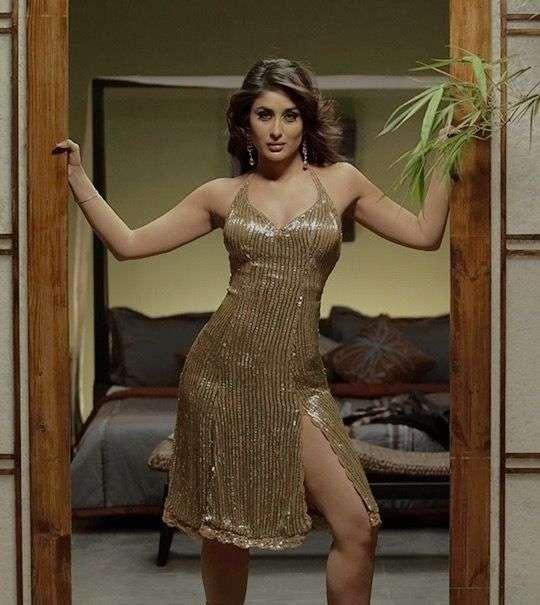 Kareena Kapoor In Golden Statement Dress From Don