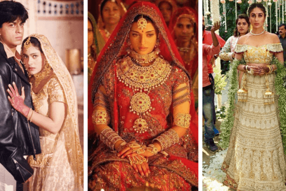 Iconic Bollywood Bridal Outfits
