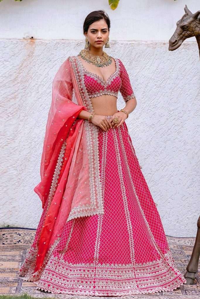 Bridal Lehenga By Anushree Reddy