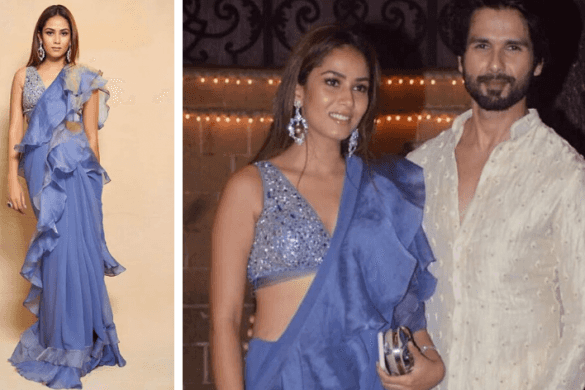 Mira Rajput in Jade by MK