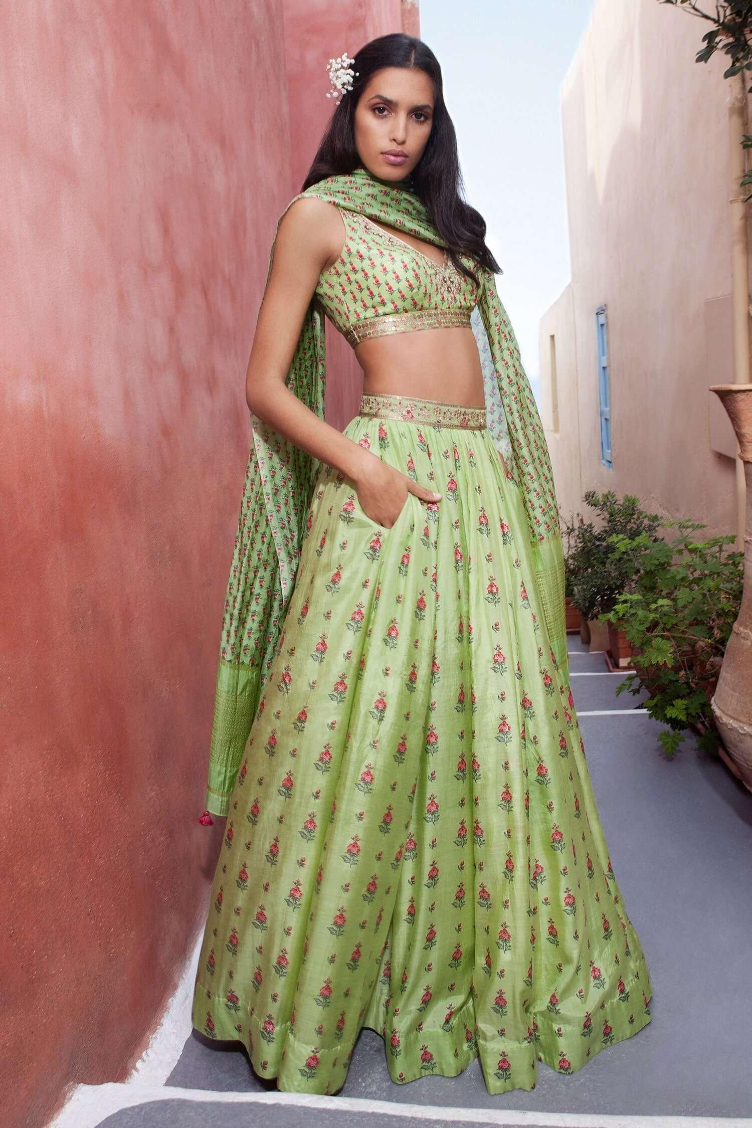 Anita Dongre Lehenga for Diwali Shopping
