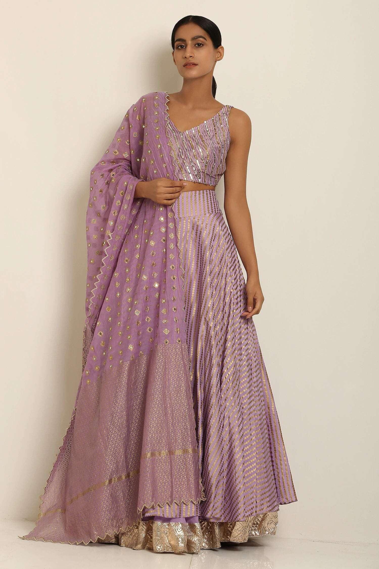 Seema Nanda lehenga for Diwali Shopping