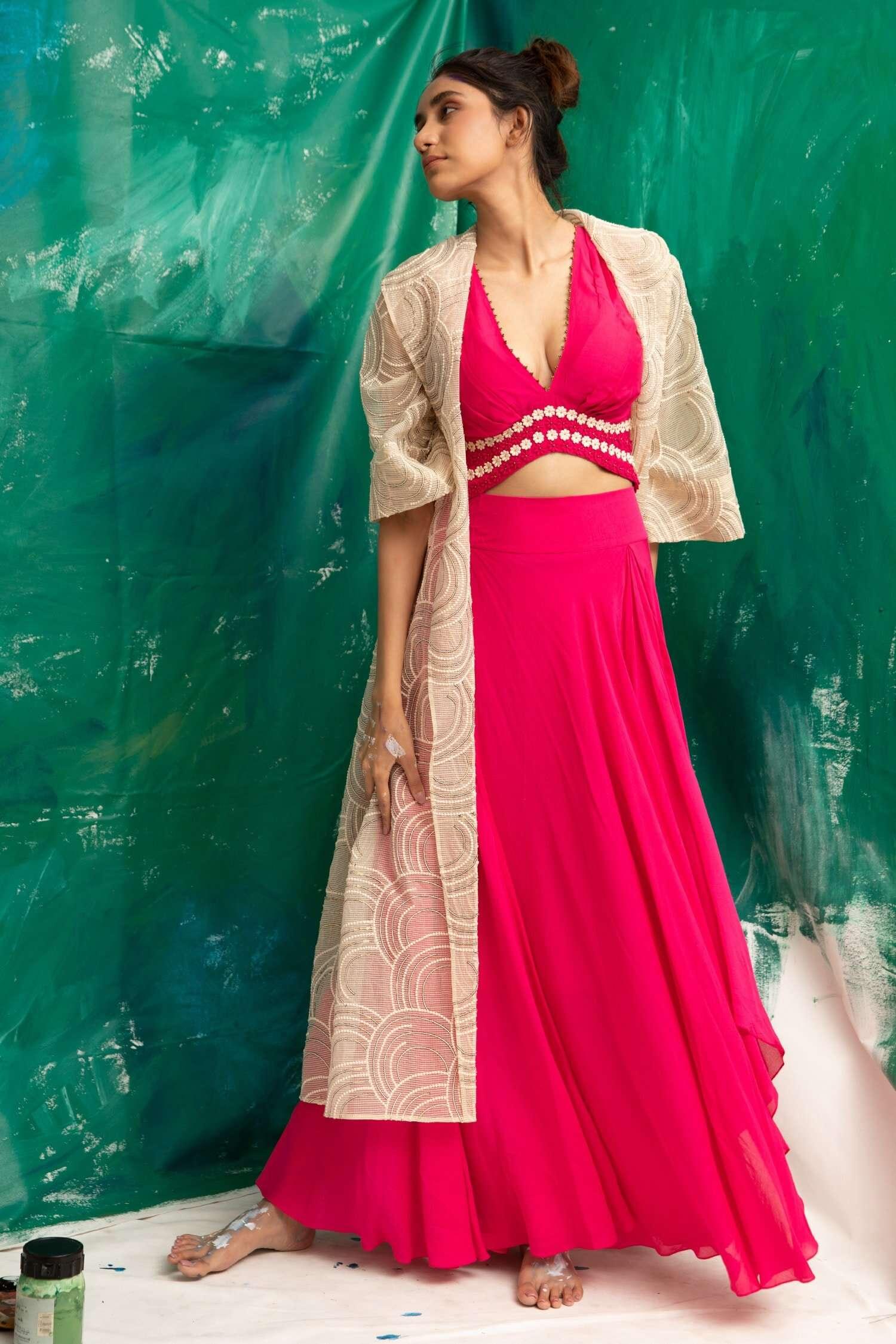 Suman Nathwani lehenga for Diwali Shopping