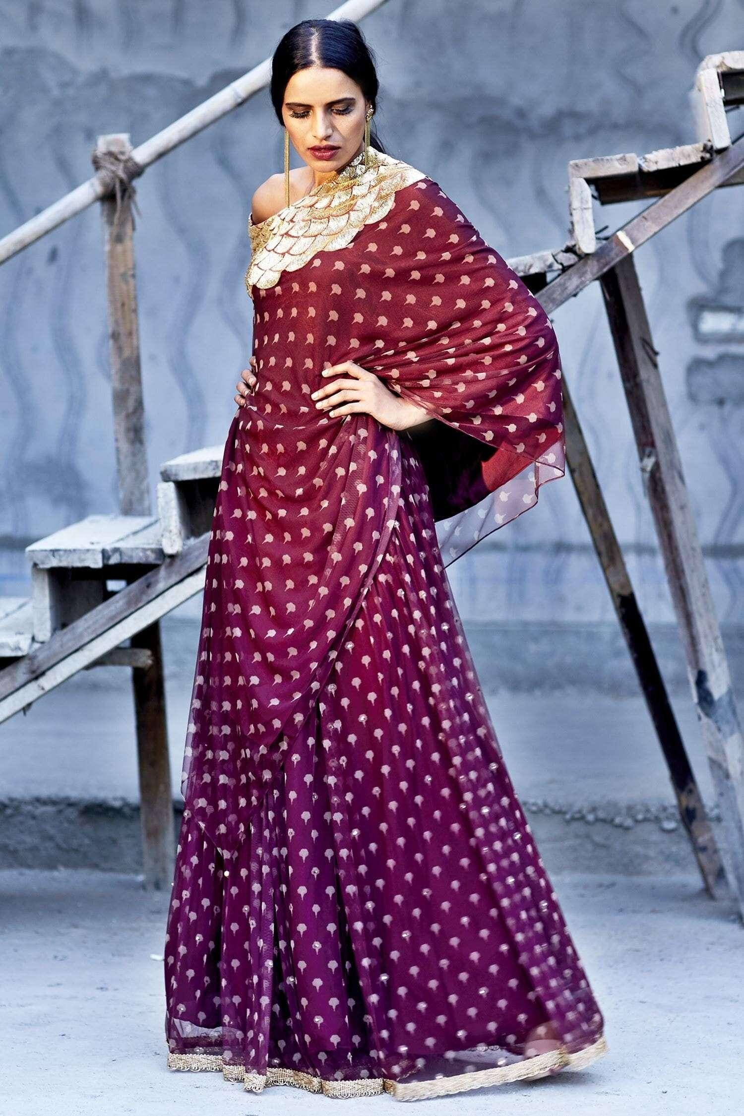Zoraya kaftan lehenga for Diwali Shopping