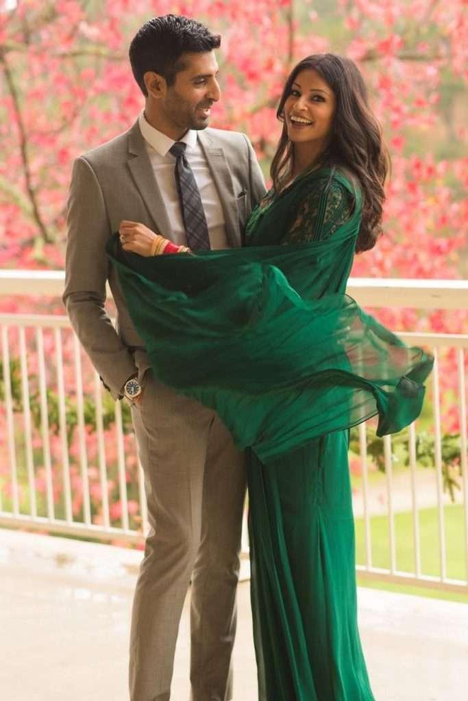 Richa Moorjani in Gaurav Gupta