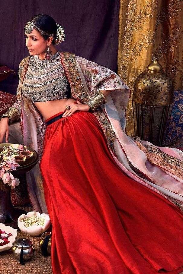 Malaika Arora in Anamika Khanna