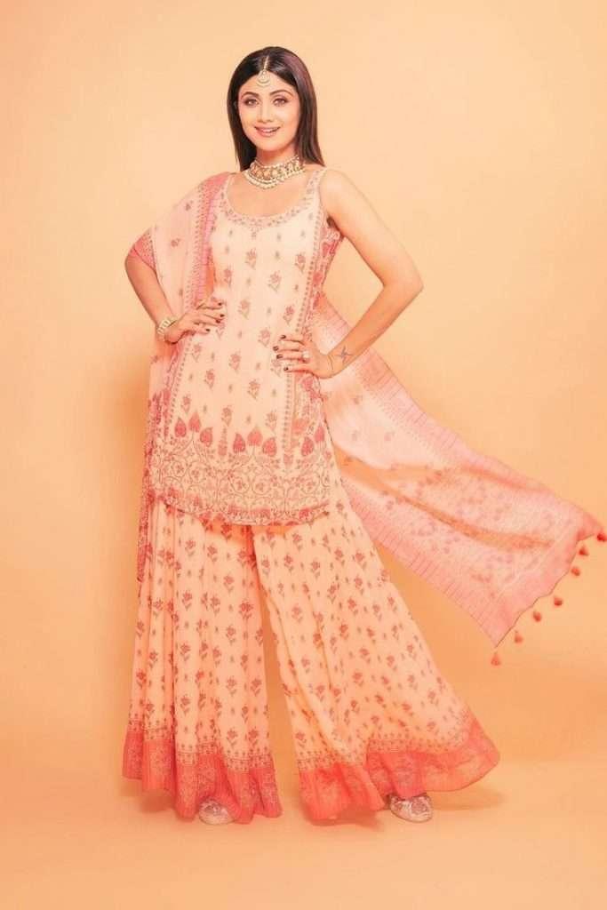 Shilpa Shetty in Anita Dongre