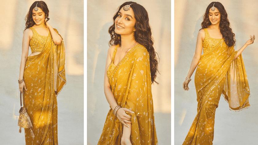 Shraddha Kapoor in Arpita Mehta