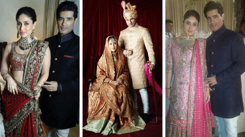 Kareena Kapoor Khan Wedding Looks