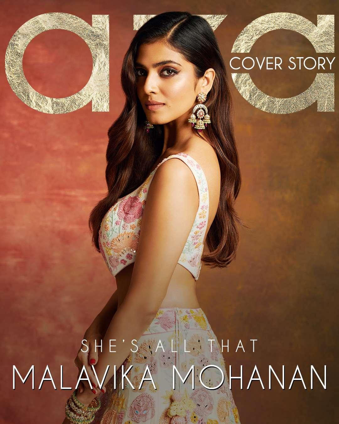 Malavika Mohanan Cover Story